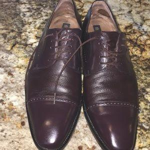 Mezlan men's Fermo Oxford leather dress shoes, 12